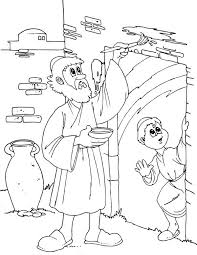 Small Picture Children of Israel Do the Gods Command to Mark Their Door on