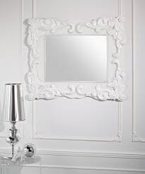 white framed mirror blanca rectangle decorative wall 0 depict trendy mirrors uamp