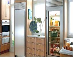 extra large refrigerator residential glass door luxury front for prepare dimensions