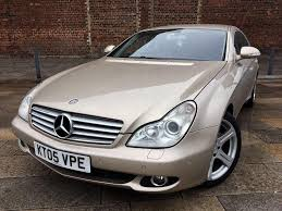 2005 MERCEDES CLS 500 / AUTO / RED LEATHER / ALLOYS / SAT NAV ...