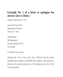Sample Letter Of Absent From School Absent Note Example Techsentinel Co