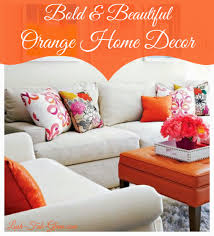 Orange Accessories For Living Room Lush Fab Glam Blogazine Transition From Summer To Fall With