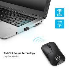 <b>G822 Wireless Mouse Adjustable</b> Ergonomic Design 4 Buttons Mini ...