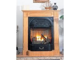 buckingham oak ventless gas fireplace