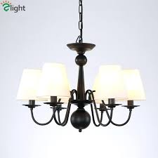 chandelier with fabric shades retro fabric shades led pendant chandeliers re black iron dining room led chandelier with fabric shades