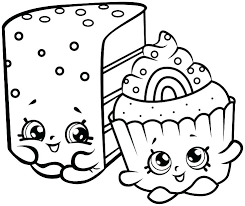 Shopkins Coloring Pages For Free Printable Coloring Coloring Sheets