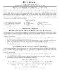 Accounts Payable Sample Resume Stunning Sample Resume For Accounts Receivable Accounts Receivable Resume