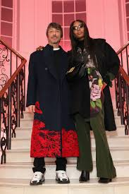 Pierpaolo Piccioli Designer Of The Year Naomi Campbell Fete Launch Of A Magazine Curated By
