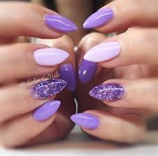 Pin By Jayne On My Likes Purple Gel Nails Lilac Nails Purple Nails