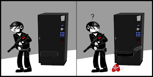 Scp Foundation Vending Machine Fascinating RQ Favorite SCP X Guard By Blinkpen On DeviantArt