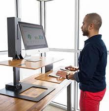 standing computer desk. Wonderful Standing E7 Electric Standing Desk Converter Throughout Standing Computer Desk