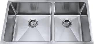 Double Kitchen Sink  Stainless Steel Color  Lippert Components Stainless Steel Double Kitchen Sink