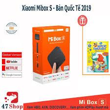 Nơi bán Android Tivi Box Xiaomi Mibox S 4K Global Quốc Tế giá rẻ, uy tín,  chất lượng