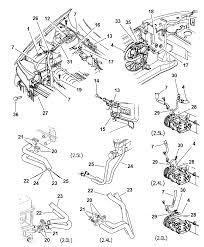 Plumbing heater a c for 1999 chrysler sebring convertible car suspension sebring suspension diagram