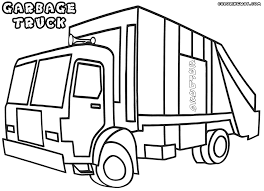 Small Picture Garbage truck coloring pages Coloring pages to download and print