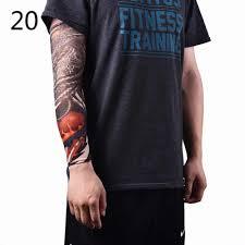 временные тату теплый рукав чулки эластичные тату рукава нейлон спортивные