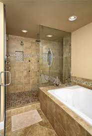 Walk In Showers And Baths walk in shower. tile color and pattern - instead  of