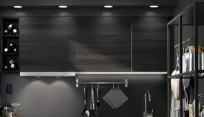 black kitchen lighting. Kitchen Lighting Lgca 08 A Integrated Ph Professional The Omlopp Lamp Is With Built In Led Black H