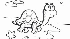 Small Picture Easy Cartoon Drawing Art For Kids How To Draw A Turtle Cartoon