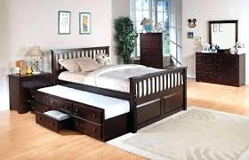 Trundle Full Size Bed White Full Size Bed With Twin Trundle ...