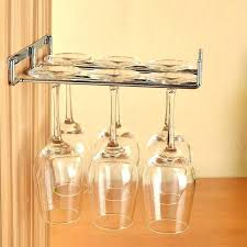 hanging wine glass rack wall mounted wine glass holder invigorate stemware rack weddings with regard to