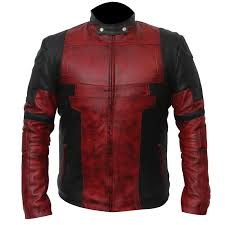 deadpool 2 wade wilson leather jacket