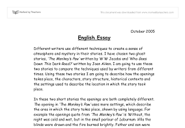 example of english essay okl mindsprout co example of english essay