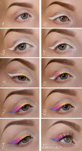 awesome makeup tutorials for summer rainbow makeup tutorial simple and easy step by step