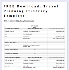 international travel itinerary template. FREE Download Travel Planning Itinerary Template Printables
