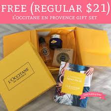 l occitane en provence gift set