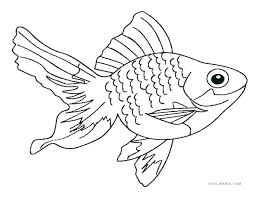 Small Fish Coloring Pages Nip Laceaorg