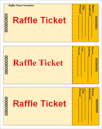 Template For A Raffle Ticket Fundraiser Tickets Template Free Awesome Sample Raffle