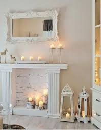 Faux Candle Fireplaces