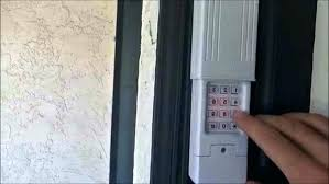 liftmaster code reset change liftmaster garage door keypad code reset