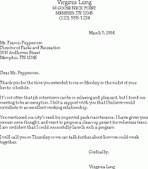 Sample Thank You Letter After A Job Interview Susan Ireland