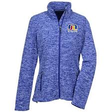 4imprint Com Crossland Heather Fleece Jacket Ladies 146500 L