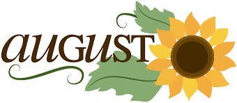 Image result for hello august clipart