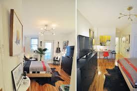 Studio Apartment Floor Plans U0026middot Film Buff Packs Charm Diy S Into.  remarkable 400 sq ft 400sqftapartment