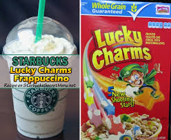 For us the round body, juicy taste and signature nutty finish are worth the journey every single time. Starbucks Lucky Charms Frappuccino Starbucks Secret Menu