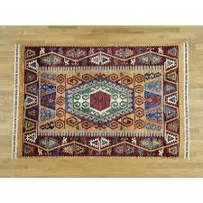 5 7 x8 hand knotted super kazak khorjin design oriental rug g33539