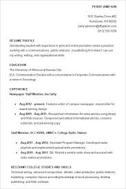 Sample College Resume Everything Of Letter Sample