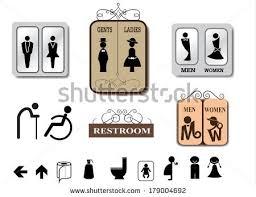 Bathroom Sign Vector Toilet Sign Vectors Download Free Vector Art Classy Bathroom Sign Vector