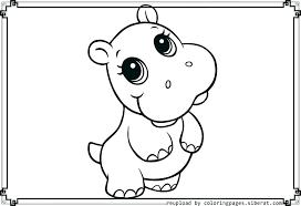 Animals Coloring Pages Printable Fundamentals Baby Animal Coloring