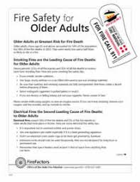 senior fire safety