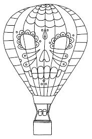 Dessin De Coloriage Montgolfiere Imprimer Cp18618