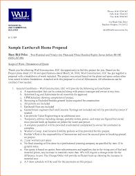 Building Proposal Sample 24 construction proposal format Project Proposal 1