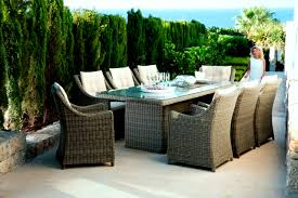 Florabest Gartenmöbel Set Geflecht 7 Teilig Braun