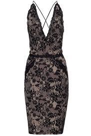 kardashian kollection at lipsy lace cross strap dress 70