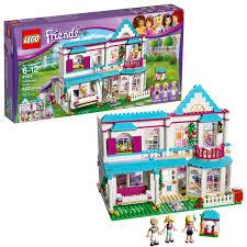 lego friends stephanie s house 41314 toy dollhouse playset 622 pcs