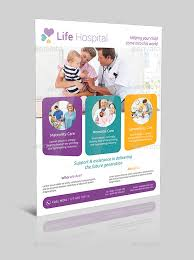 children hospital flyers hospital flyer v004 by as group graphicriver